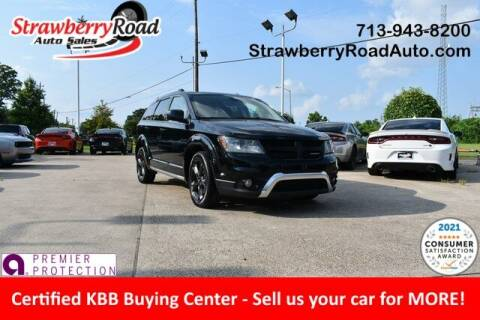 2019 Dodge Journey for sale at Strawberry Road Auto Sales in Pasadena TX