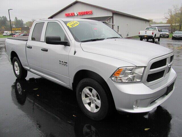 2018 RAM Ram Pickup 1500 for sale at Thompson Motors LLC in Attica NY