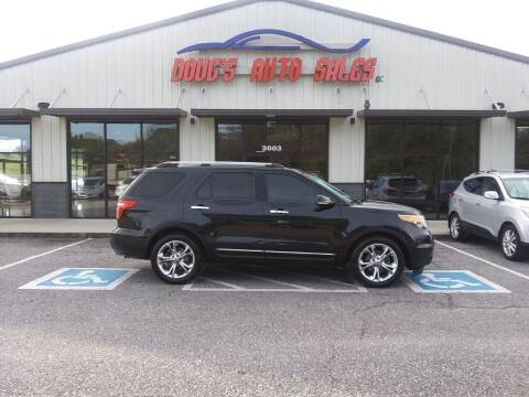 2011 Ford Explorer for sale at DOUG'S AUTO SALES INC in Pleasant View TN
