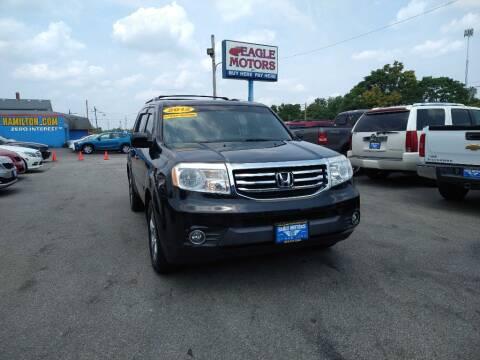 2012 Honda Pilot for sale at Eagle Motors in Hamilton OH