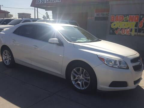 2013 Chevrolet Malibu for sale at Sunday Car Company LLC in Phoenix AZ