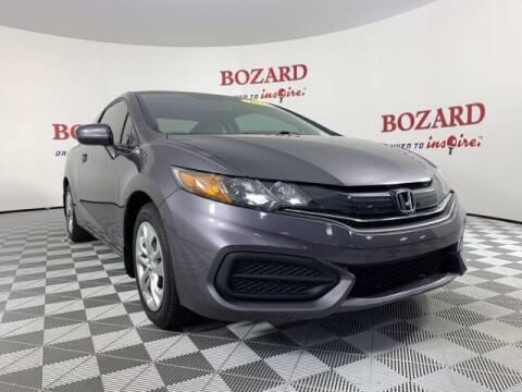 2014 Honda Civic for sale at BOZARD FORD in Saint Augustine FL