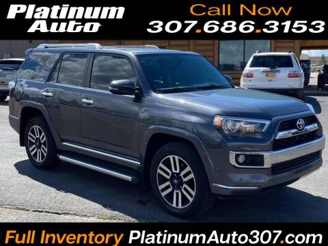 2016 Toyota 4Runner for sale at Platinum Auto in Gillette WY