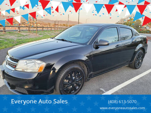 2014 Dodge Avenger for sale at Everyone Auto Sales in Santa Clara CA