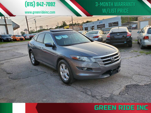 2010 Honda Accord Crosstour for sale at Green Ride Inc in Nashville TN
