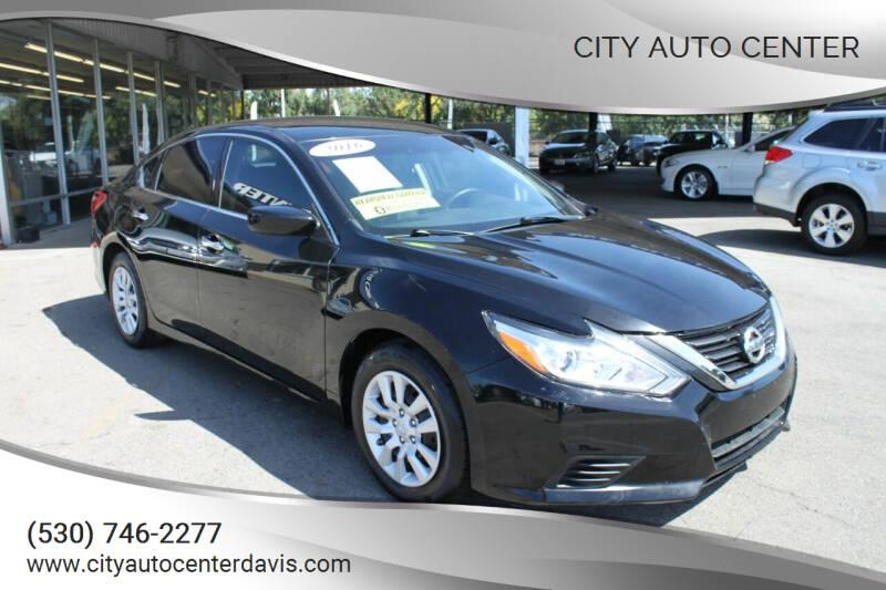 2016 Nissan Altima for sale at City Auto Center in Davis CA