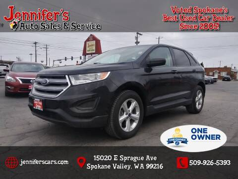 2018 Ford Edge for sale at Jennifer's Auto Sales in Spokane Valley WA