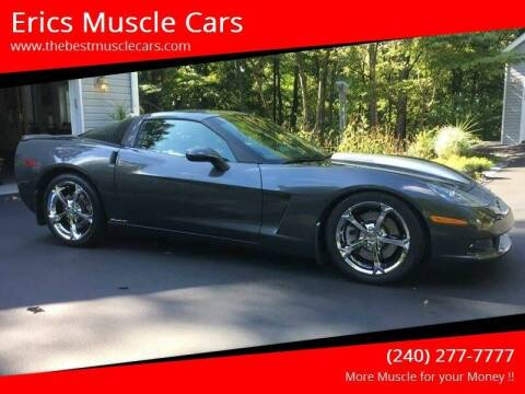 2009 Chevrolet Callaway Corvette for sale at Erics Muscle Cars in Clarksburg MD