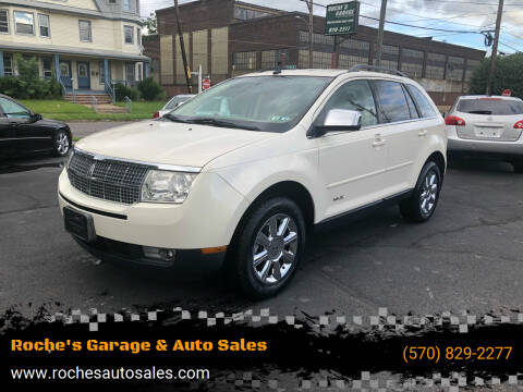 2007 Lincoln MKX for sale at Roche's Garage & Auto Sales in Wilkes-Barre PA