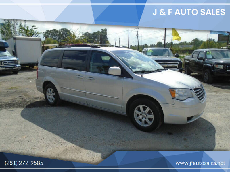 2010 Chrysler Town and Country for sale at J & F AUTO SALES in Houston TX