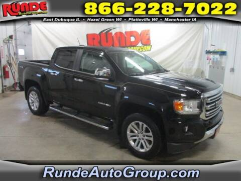 2019 GMC Canyon for sale at Runde Chevrolet in East Dubuque IL