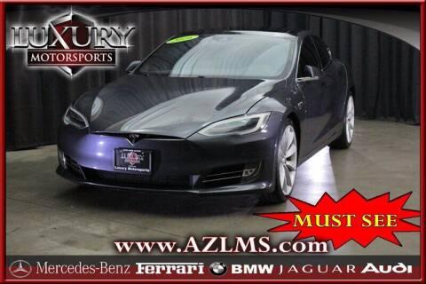 2016 Tesla Model S for sale at Luxury Motorsports in Phoenix AZ