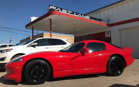 1998 Dodge Viper for sale at FAST LANE AUTO SALES in San Antonio TX