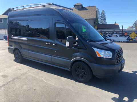 2015 Ford Transit Passenger for sale at 3 BOYS CLASSIC TOWING and Auto Sales in Grants Pass OR