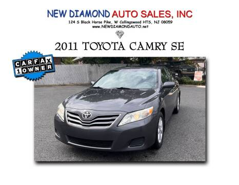 2011 Toyota Camry for sale at New Diamond Auto Sales, INC in West Collingswood Heights NJ