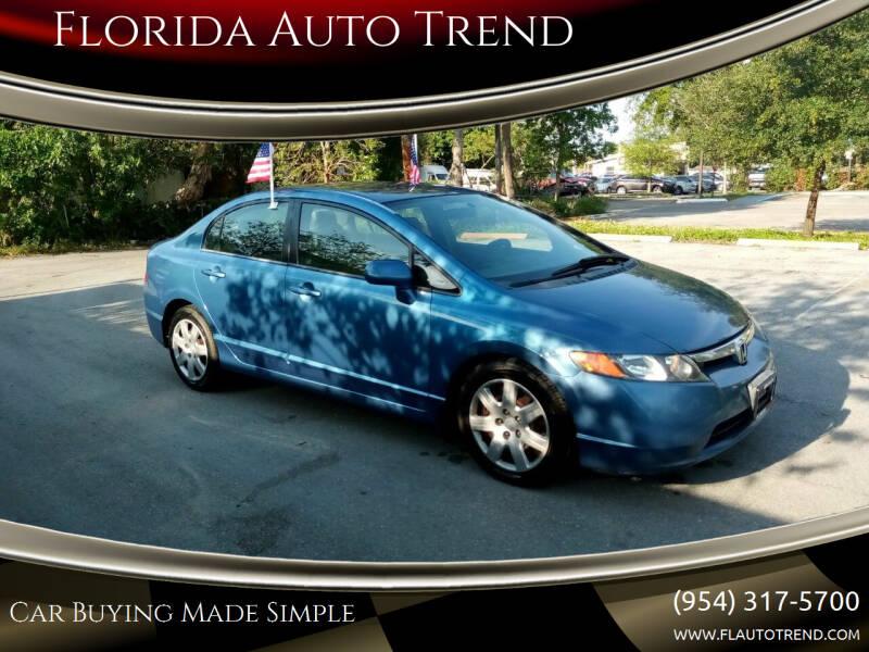2006 Honda Civic for sale at Florida Auto Trend in Plantation FL
