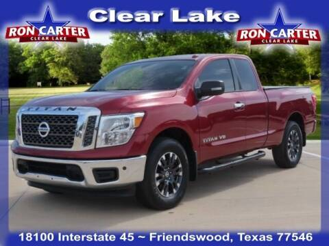 2018 Nissan Titan for sale at Ron Carter  Clear Lake Used Cars in Houston TX