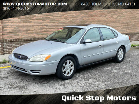 2006 Ford Taurus for sale at Quick Stop Motors in Kansas City MO