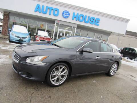 2010 Nissan Maxima for sale at Auto House Motors in Downers Grove IL