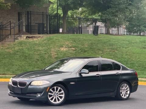 2013 BMW 5 Series for sale at Diamond Automobile Exchange in Woodbridge VA