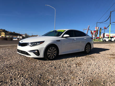 2019 Kia Optima for sale at 1st Quality Motors LLC in Gallup NM