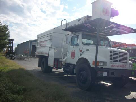 2000 International 4700 Chip Truck for sale at Classics Truck and Equipment Sales in Cadiz KY