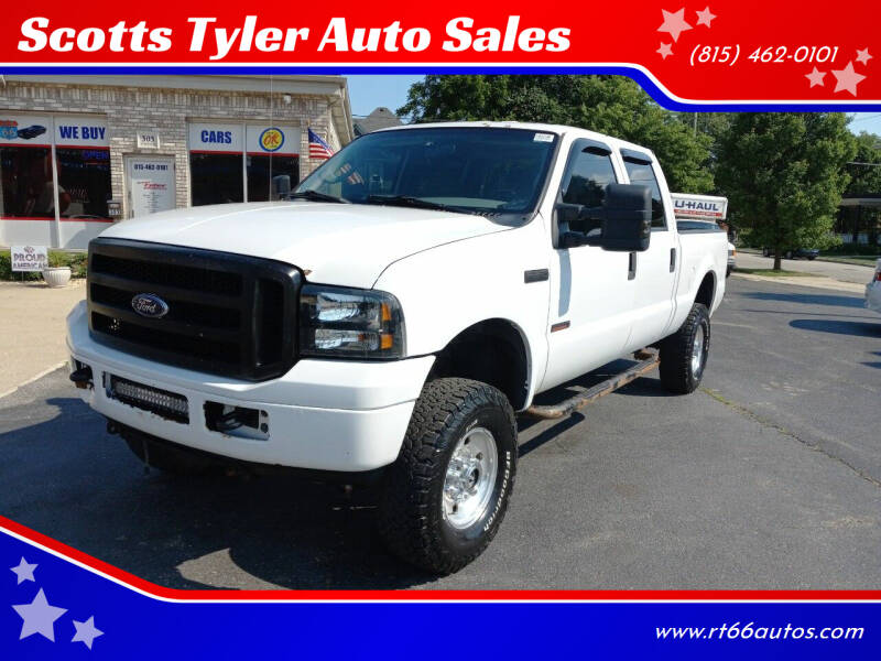 2004 Ford F-250 Super Duty for sale at Scotts Tyler Auto Sales in Wilmington IL