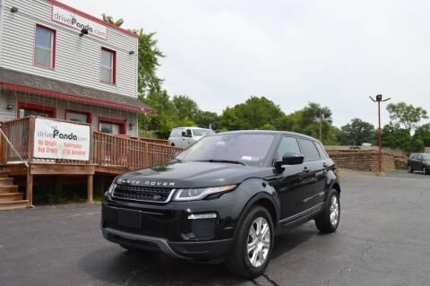 2019 Land Rover Range Rover Evoque for sale at DrivePanda.com Joliet in Joliet IL