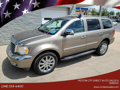 2007 Chrysler Aspen for sale at Motor City Direct Auto Sales & Service in Pontiac MI