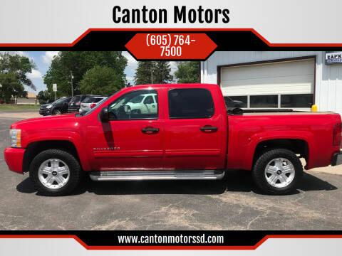2010 Chevrolet Silverado 1500 for sale at Canton Motors in Canton SD