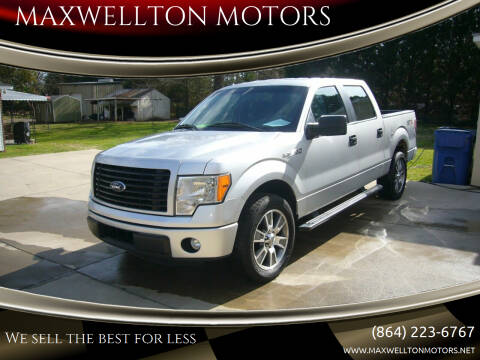 2014 Ford F-150 for sale at MAXWELLTON MOTORS in Greenwood SC