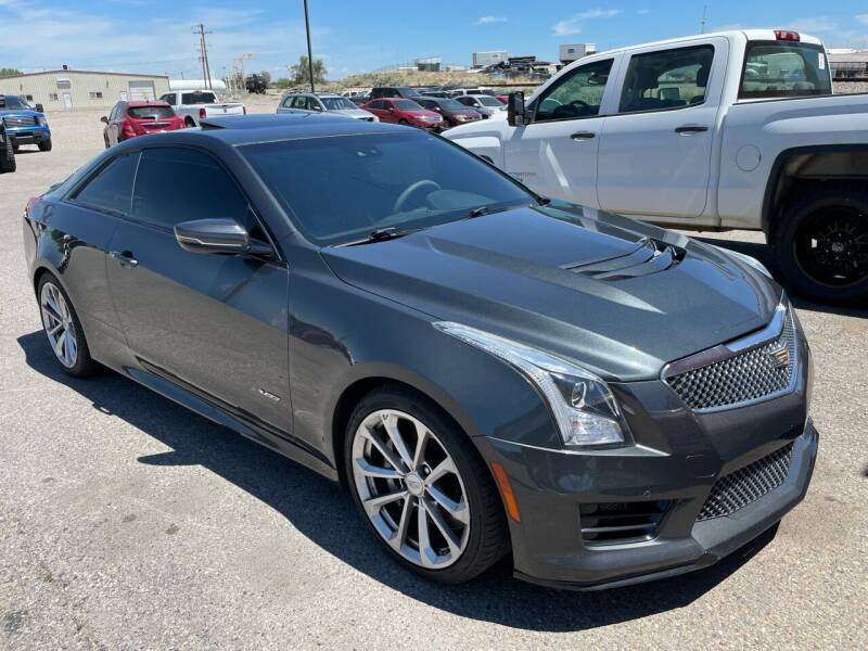 2016 Cadillac ATS-V for sale at Top Line Auto Sales in Idaho Falls ID