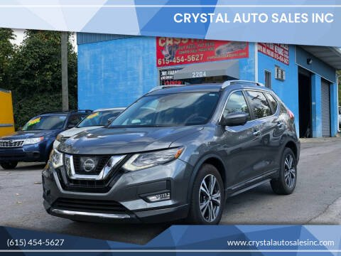 2017 Nissan Rogue for sale at Crystal Auto Sales Inc in Nashville TN