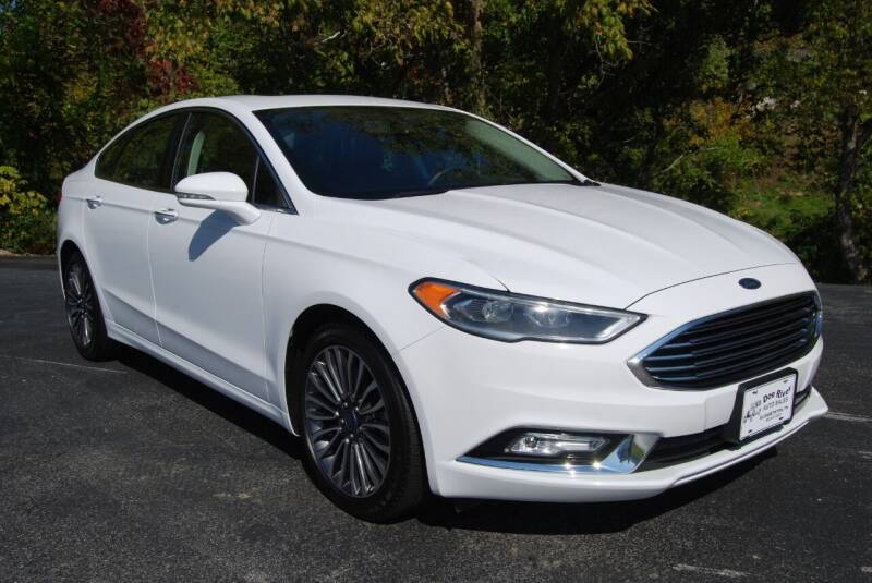 2017 Ford Fusion for sale at DOE RIVER AUTO SALES in Elizabethton TN