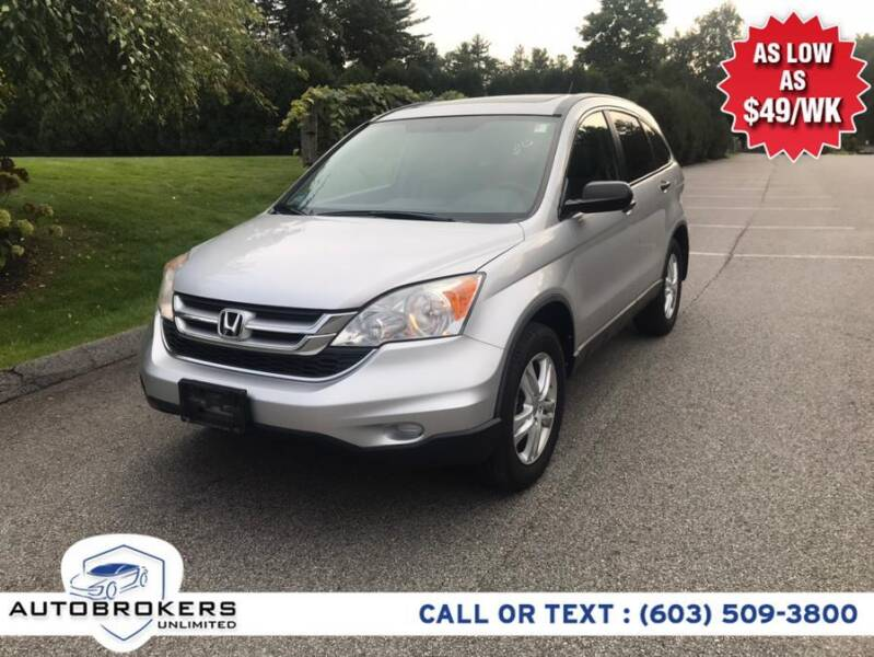 2011 Honda CR-V for sale at Auto Brokers Unlimited in Derry NH