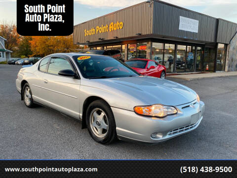 2001 Chevrolet Monte Carlo for sale at South Point Auto Plaza, Inc. in Albany NY