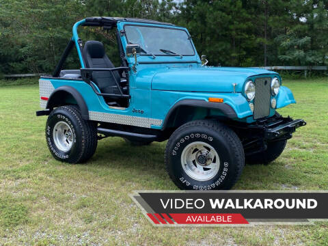 1979 Jeep CJ-5 for sale at Selective Imports in Woodstock GA
