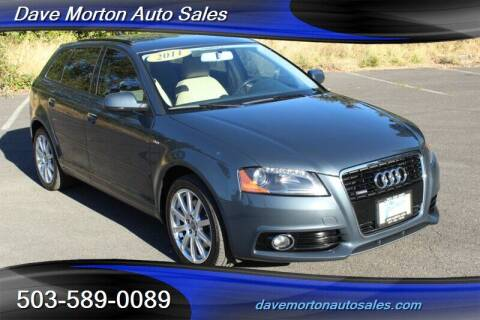 2011 Audi A3 for sale at Dave Morton Auto Sales in Salem OR