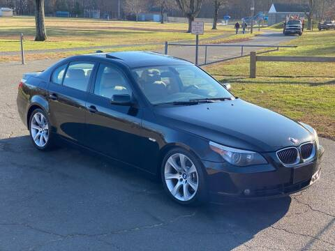 2007 BMW 5 Series for sale at Choice Motor Car in Plainville CT