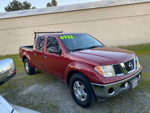 2008 Nissan Frontier for sale at Quintero's Auto Sales in Vacaville CA