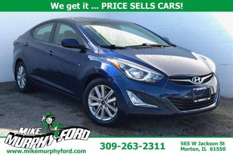 2016 Hyundai Elantra for sale at Mike Murphy Ford in Morton IL