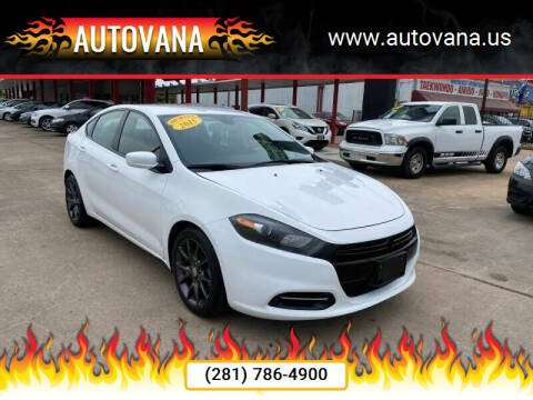 2015 Dodge Dart for sale at AutoVana in Humble TX