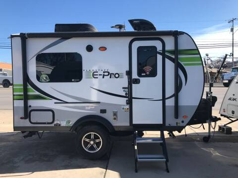 2020 FOREST RIVER FLAGSTAFF E-PRO 15TBG for sale at ROGERS RV in Burnet TX