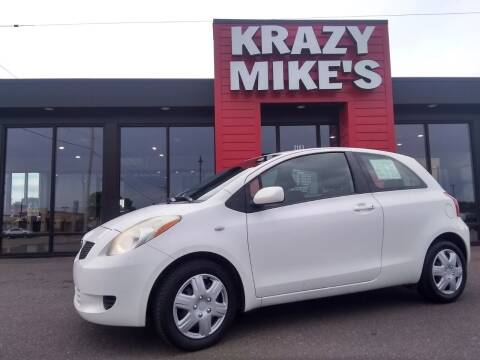 2008 Toyota Yaris for sale at Krazy Mikes Car and Truck in Altoona WI