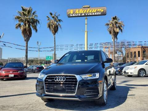 2016 Audi Q3 for sale at A MOTORS SALES AND FINANCE in San Antonio TX