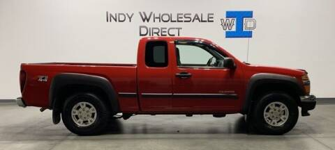 2004 Chevrolet Colorado for sale at Indy Wholesale Direct in Carmel IN