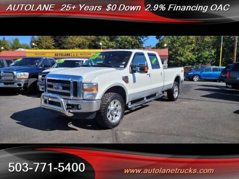 2010 Ford F-350 Super Duty for sale at Auto Lane in Portland OR