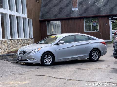 2013 Hyundai Sonata for sale at Cupples Car Company in Belmont NH