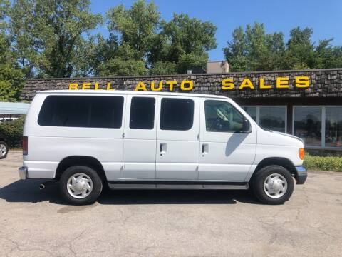 2007 Ford E-Series Wagon for sale at BELL AUTO & TRUCK SALES in Fort Wayne IN