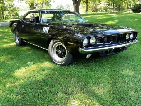1971 Plymouth Barracuda for sale at Classic Car Deals in Cadillac MI